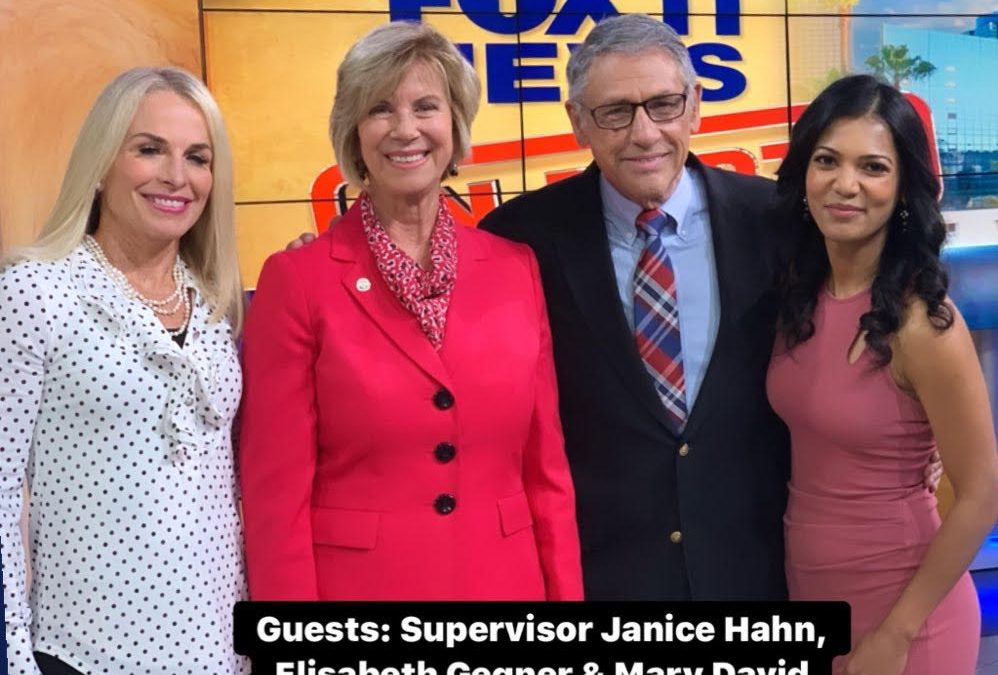 Appearance on FOX 11 News In Depth with Hal Eisner